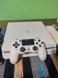 PlayStation 4 Slim Blanca + Mando V2 - foto