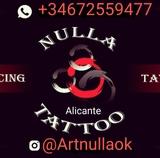 Nulla tattoo a domilicilo Alicante - foto