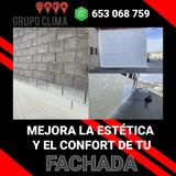Aislamiento fachadas con poliuretano - foto
