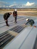 Reparacion de tejados de naves - foto