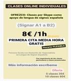 CLASES ONLINE DE APOYO LENGUA DE SIGNOS - foto