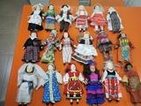 Lote 37 muñecas del mundo porcelana - foto