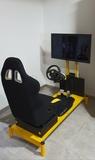 simulador de coche race sport - foto