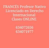 PROFESOR NATIVO DE FRANCÉS CLASES ONLINE - foto