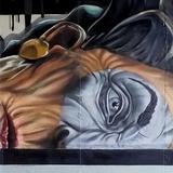 graffiti,mural profesional - foto