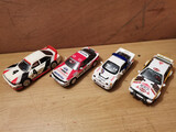 Lote 4 coches 4X4 rally Scalextric - foto