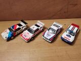 Lote 4 coches rally de Scalextric - foto
