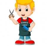 se corta el pelo a hombres y niños - foto