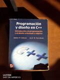 VENDO LIBRO PROGRAMACIÓN Y DISEÑO EN C++ - foto