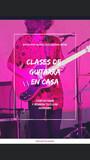 CLASES DE GUITARRA A DOMICILIO Y ONLINE - foto