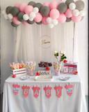 Decoración con globos para cumpleaños - foto