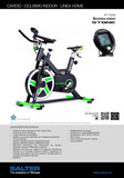 Vendo bicicleta spinning salter pt-1590 - foto