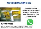 CONDUCTERO Y INSTALADOR DE FIBRA - foto