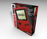 Caja Vacía Game Boy Pocket Roja - foto