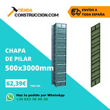 CHAPA DE PILAR 500X3. 000 MM - foto