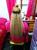 coloco extensiones de cabello - foto