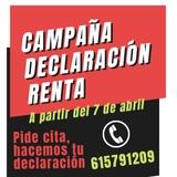 Campaña Declaración Renta 2020 - foto