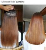 Extensiones de cabello con queratina - foto
