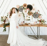 Comunión boda decoración y mesa dulce  - foto