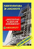 ANDAMIOS FUERTEVENTURA - foto