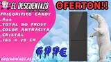 Frigorifico candy cristal 70cm ancho - foto