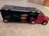 camión tráiler - foto