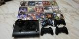 PlayStation 3 con 15 juegos y 4 mandos - foto