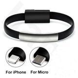 Pulsera micro usb Iphone Tipo C para car - foto