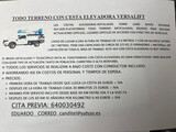 Servicio alquiler camion cesta 4x4 - foto