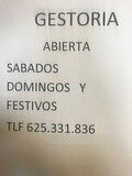 GESTORIA TRAFICO ABIERTA SABADOS DOMINGO - foto
