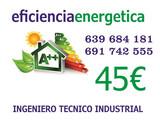certificado energético ibiza 45e - foto