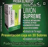 thermogen de limón omilife - foto