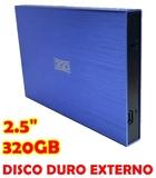 HD EXTERNO 3GO 320GB, 2.5  USB