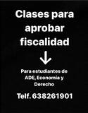 CLASES PARA APROBAR FISCALIDAD - foto