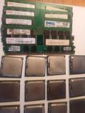 PROCESADORES Y RAM DDR LOTES