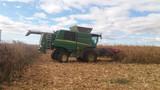 transporte de cosechadora - foto