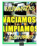 MUDANZAS PORTES LIMPIEZAS Y VACIADOS! - foto