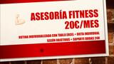 AsesorÍa fitness 20  / mes - foto