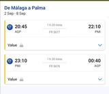 2 BILLETES DE AVIóN A PALMA DE MALLORCA