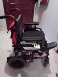 silla de ruedas eléctrica plegable - foto