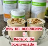 herbalife 25% descuento + regalos - foto