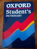OXFORD STUDENTS DICTIONARY - foto