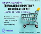CURSO CAJERO Y REPONEDOR VIRTUAL - foto