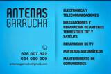 Antenas Garrucha - foto