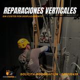 Reparación de grietas en altura - foto