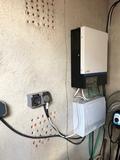 se instalan placas solares - foto