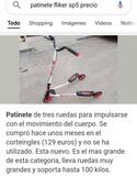 PATINETE 3RUEDAS FLIKER SP 5 - foto