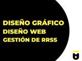 DISEÑO GRÁFICO, DISEÑO WEB, GESTIÓN RRSS - foto