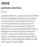 patinete eléctrico - foto