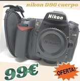 CAMARA REFLEX NIKON D90 CUERPO